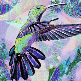 Purple Jewel Hummingbird by Michele Avanti