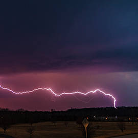 Purple Lightning by Tyler Schlitt