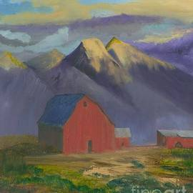 Gloria Condon - Purple mountain Majesty