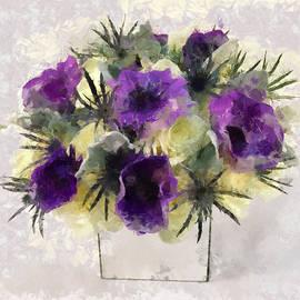 Ronald Bolokofsky - Purple Orchids I