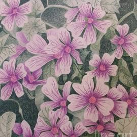 Jena Suits - Purple Petals