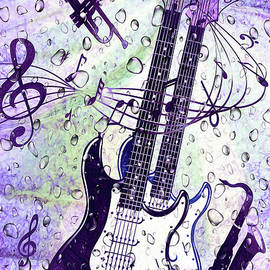 Kaye Menner - Purple Rain by Kaye Menner