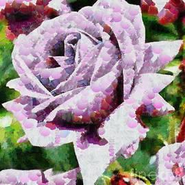 Catherine Lott - Purple Rose Painting