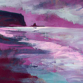 Purple Sea by Nancy Merkle