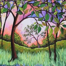 Peggy Davis - Purple Sky