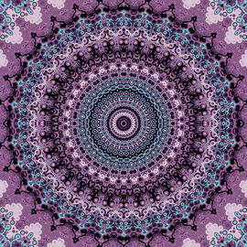 Purple Sunburst by Grace Iradian