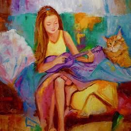 Marina Wirtz - Purple ukulele