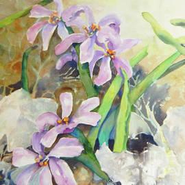 Sharon Nelson-Bianco - Purple Wild flowers