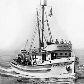 Purse Seiner Western Flyer on her sea trials Washington 1937 by California Views Archives Mr Pat Hathaway Archives