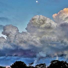 Pyrocumulus Cloud Sunset by Heidi Fickinger