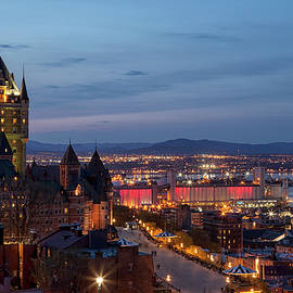 Eunice Gibb - Quebec City Lights