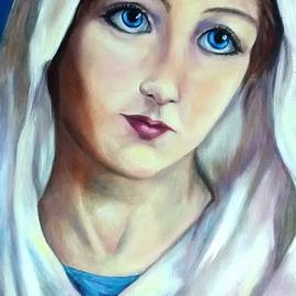 Mary Queen Of Peace by Laura Napoli