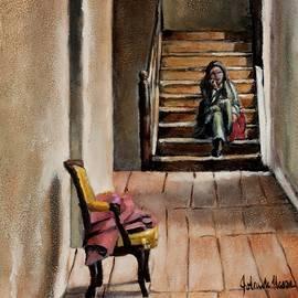 Quiet Chair by Jolante Hesse