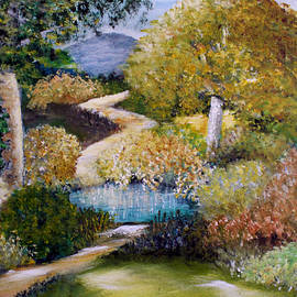 Quiet Pond 2 by Sandra Young Servis