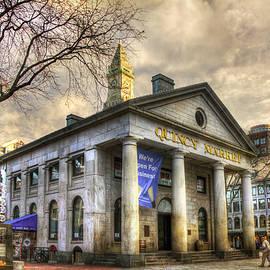 Quincy Market - Boston, Ma. by Joann Vitali