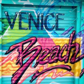 Quirky Venice Beach by Art Block Collections