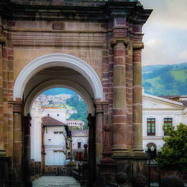 Quito Cathedral Arch by Terry Davis