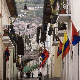 Quito Ronda District by Sally Weigand
