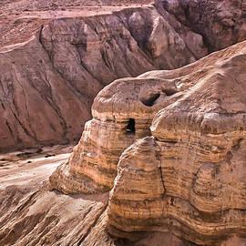 Qumran Cave 4, Israel by Brian Tada