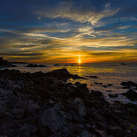 Marty Saccone - Quoddy Head State Park Sunrise Panorama