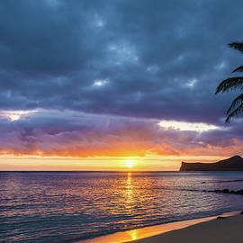 Rabbit Island Sunrise 3 - Oahu Hawaii by Brian Harig