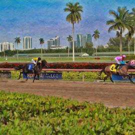 Race Day - Trk20158642 by Dean Wittle