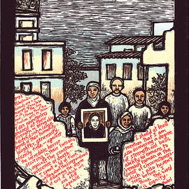 Rachel Corrie by Ricardo Levins Morales