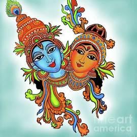 Latha Gokuldas Panicker - Radha with her Krishna