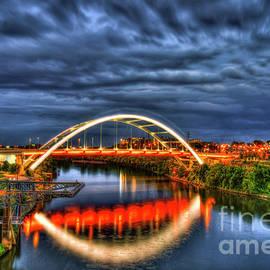 Radiant Honor Korean War Veterans Memorial Bridge Nashville Tennessee Art by Reid Callaway