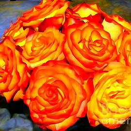 Radiant Roses by Ed Weidman