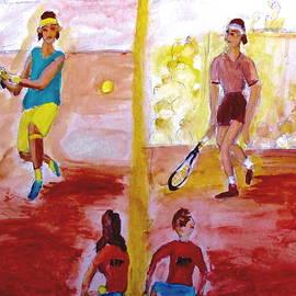 Rafa Versus Federer by Stanley Morganstein