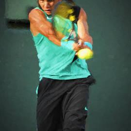 Rafael Nadal by Lou Novick