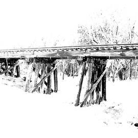 James Granberry - Rail Road Bridge In Winter 1