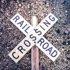 Railroad Crossing Sign by Dan Sproul