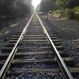 Kristy Evans - Railroad Tracks #2