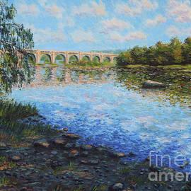 Railway Bridge over the James River by Tatiana Gracheva