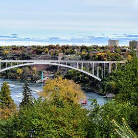 Maria Keady - Rainbow Bridge Between Canada and U. S.