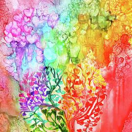 Carol Cavalaris - Rainbow Heart Tree