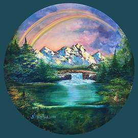 Nino Ponditerra - Rainbow in mountains
