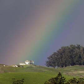 Rainbow on Petaluma Hill