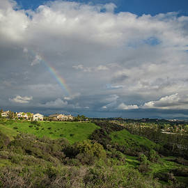 Lynn Bauer - Rainbow Over Porter Ranch