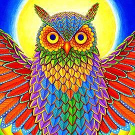Rebecca Wang - Rainbow Owl