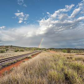 Racheal Christian - Rainbows Over Ghan Tracks