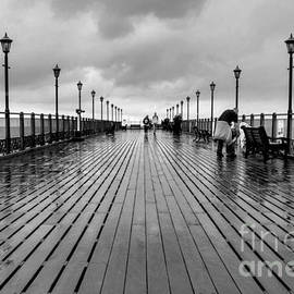 Rainy Boardwalk