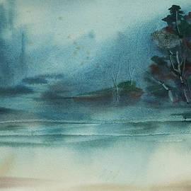 Rainy Inlet by Jani Freimann