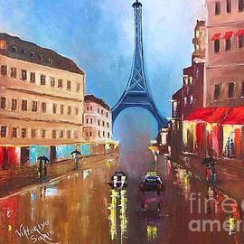 Viktoriya Sirris - Rainy Paris