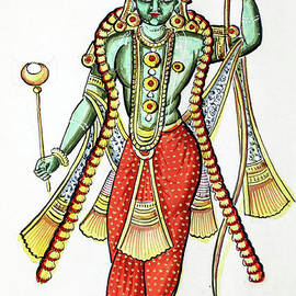 Rama, 7th avatar of Vishnu - Indian School