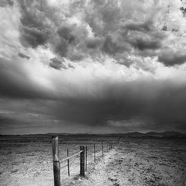 William Dunigan - Ramona Cow Fence and Storm
