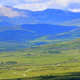 Ed Mosier - Ranch Road Panorama