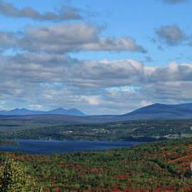 Sandra Huston - Rangeley Lake Panoramic View